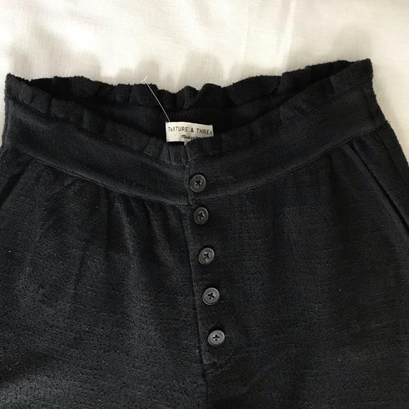 Madewell Pants - Madewell Texture & Thread Pleated Wide Leg Pants